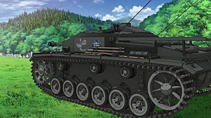 Girls Und Panzer - 3 [bg subs][720p]
