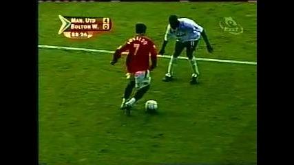 Cristiano Ronaldo Debut za Manchester United