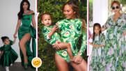 Очарователно: известни мами и децата им облечени еднакво