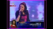 Изпълнението на Шанел с което се опита да се спаси от отпадане в music idol - 21.05.08