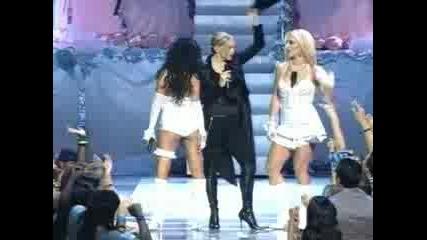 Madonna Ft. Britney Ft. Agilera Ft. Missy