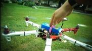 Първи полет на хексакоптер