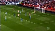 Арсенал обра овациите за най-красиви голове