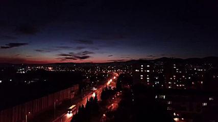Стара Загора през нощта