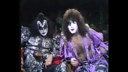 Kiss Interview For Tomorrow Show
