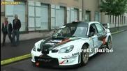 Subaru Impreza Sti Wrc - Brett Barbe - Rally de la Plaine 2012