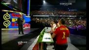 Raw 10/07/09 Новияр гост - мениджър Боб Баркър