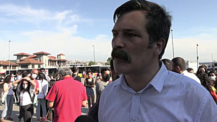 Turkey: Protesters representing Turkish Workers' Party hold anti-corruption protest in Istanbul