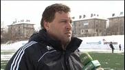 Двама холандци на проби в Славия / 12.03.2010 /