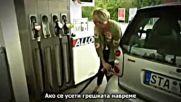 Жените шофьори - зареждането на бензиностанция (смях)