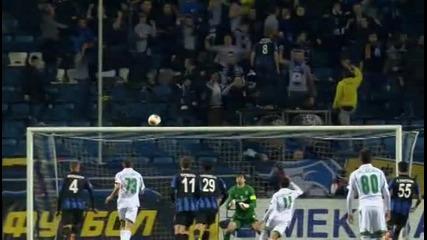 Черноморец Одеса - Лудогорец 0-1