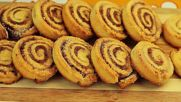 Канелени бисквитки с крема сирене