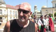 Bulgaria: Protesters hold anti-NATO rally outside parliament in Sofia