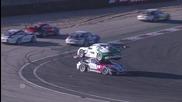 Най- куриозната катастрофа на спортни автомобили