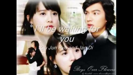 I`ll be waiting for you - Gu Jun Pyo and Jan Di