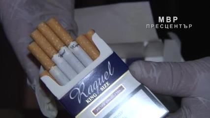 Полицията пипна 4,2 милиона къса цигари без бандерол