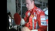 Кими Райконен - Гран При на Англия 2007г.
