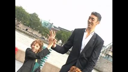Турчин е най-високият човек в света