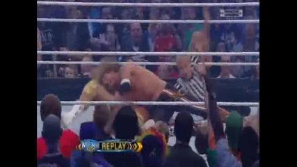 Wrestlemania 27 - Edge Vs Alberto Del Rio (del rio se razplakva)