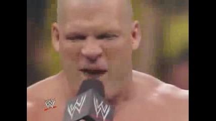 Raw 04/08/08 - Кейн Говори За Торбата Си