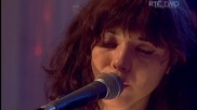 Lisa Hannigan & Richard Hawley - Hushabye Mountain (hq) Live Other Voices 2011