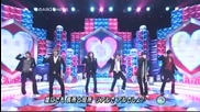 [music Station] 20090501 News opening + talk + koi no abo live