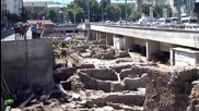 Сердика-археологическите разкопки на метростанцията