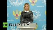 Russia: Dutch MH17 report is 'propaganda' aimed at casting blame - Russian FM