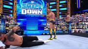 Daniel Bryan & Cesaro vs. Jey Uso & Seth Rollins: SmackDown, April 23, 2021