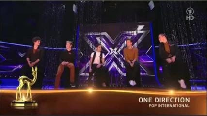 One Direction печелят награда на Bambi Awards 2012