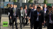 Switzerland: FIFA officials arrive for 65th congress and presidential vote