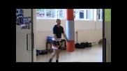 Кик&тай Бокс Суха тренировка в Германия.