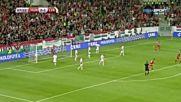 Унгария - Латвия 3:1 /репортаж/