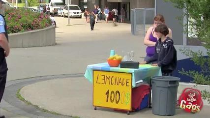 Лимонада за 100 $ ? ( Смях )