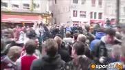 Сблъсъци и арести преди Аякс - Манчестър Юнайтед