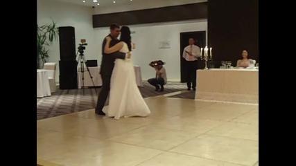 Първи сватбен танц на Криси и Антон
