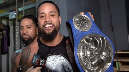 The Usos on rising from the ashes at WWE Elimination Chamber: WWE.com Exclusive, Feb. 17, 2019
