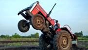 Ужасни катастрофи с трактори