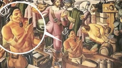 Смартфонът нарисуван в картина през 1930 година!