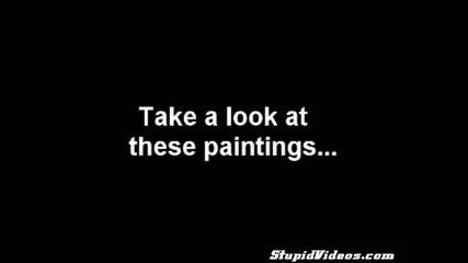 Слон рисува