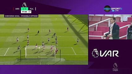 Арсенал - Фулъм 1:1