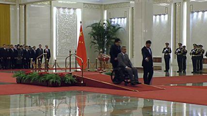 China: President Xi receives Ecuador's Moreno for loan talks