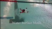 Loon Copter лети, плува и се гмурка