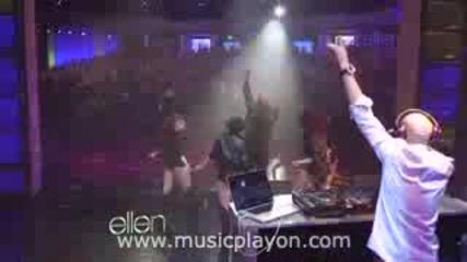 Flo Rida - Good Feeling на живо в шоуто на Ellen