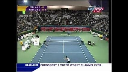 Federer Vs Nadal Dubai Final 2006