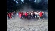 (ukraine)_mahach_ Fight foodball hooligans Fc Cska(kiev) vs