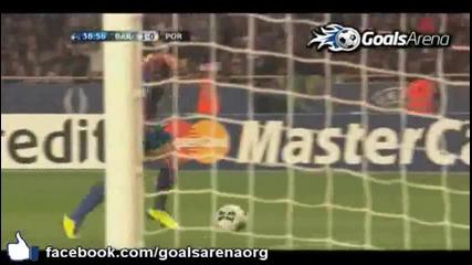 Barcelona 2-0 Fc Porto ( Super Cup ) L. Messi goal (part1)