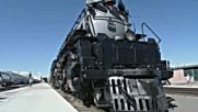 Най-големият и мощен парен локомотив в света!