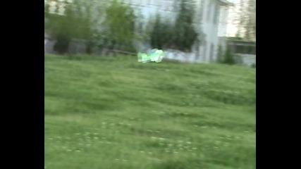 Самолет 3d Зелен