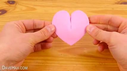 Как да направим 3d сърца